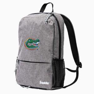 NEW Gray Florida Gators NCAA Embroidered Backpack